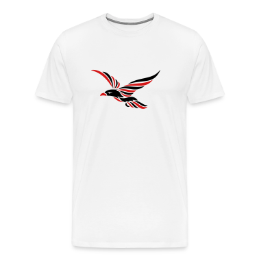 tribal_raven_2c T-Shirts