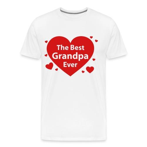 Best Grandpa Ever - Men's Premium T-Shirt