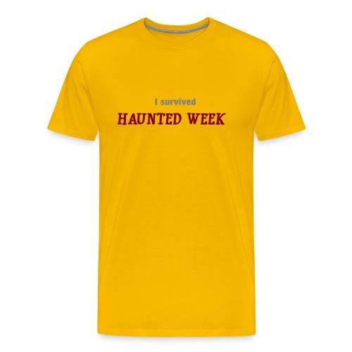 Haunted Week men's heavyweight T - Men's Premium T-Shirt