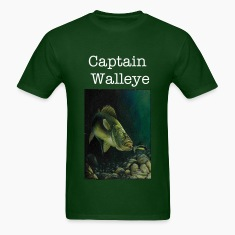 Captain Walleye Tee