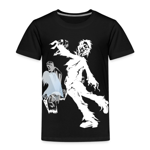 Zombie March -white- - Toddler Premium T-Shirt