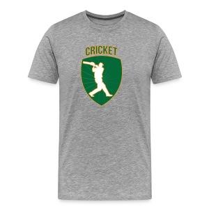 Cricket Badge - Men's Premium T-Shirt