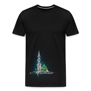 Madina T-Shirt Black - Men's Premium T-Shirt