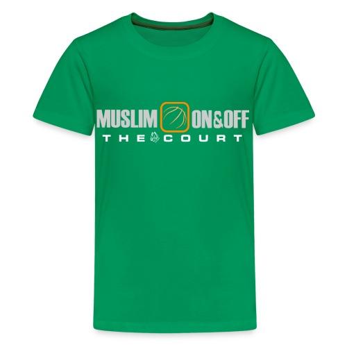Muslim On&Off the court Children - Kids' Premium T-Shirt