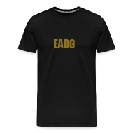 T-Shirts ~ Men's Premium T-Shirt ~ EADG Metallic Gold