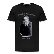 T-Shirts ~ Men's Premium T-Shirt ~ John Lee Williamson Fan Club t-shirt (3X)