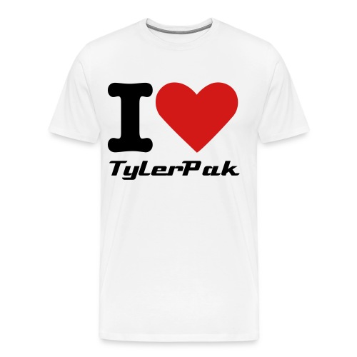 I Love TylerPak - Men's Premium T-Shirt