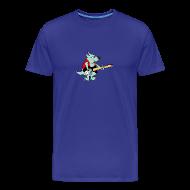 T-Shirts ~ Men's Premium T-Shirt ~ Guitar Dog - Men's