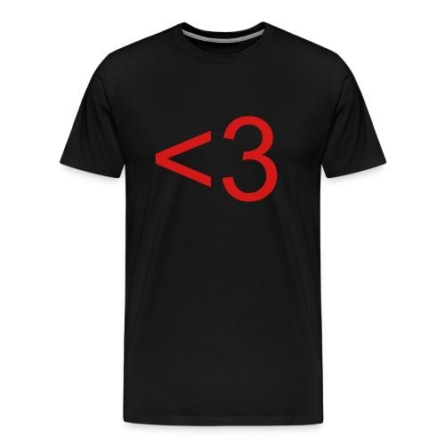 Heart by EMOT - Men's Premium T-Shirt