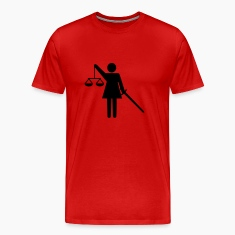 justice - scale - lawyer T-Shirts