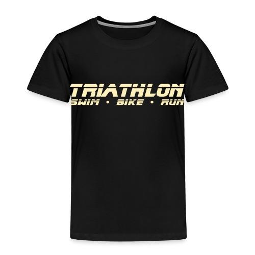 Triathlon Sleek Design Toddler T-Shirt - Toddler Premium T-Shirt