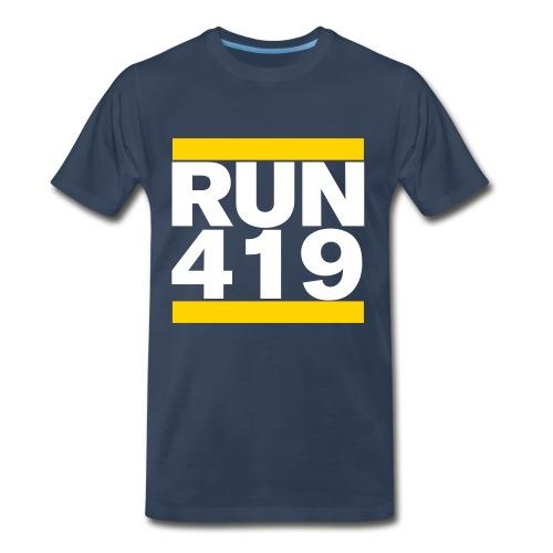 RUN 419 - Men's Premium T-Shirt