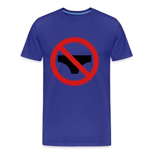 No Underwear Mens T-Shirt - Men's Premium T-Shirt
