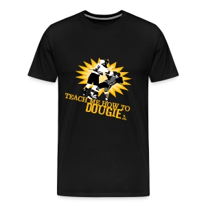 Dougie Men's Black T-Shirt - Men's Premium T-Shirt