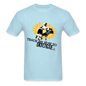 Dougie Men's Sky Blue T-Shirt - Men's T-Shirt