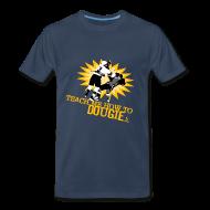 T-Shirts ~ Men's Premium T-Shirt ~ Dougie Men's Navy T-Shirt