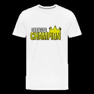 T-Shirts ~ Men's Premium T-Shirt ~ Official Champion