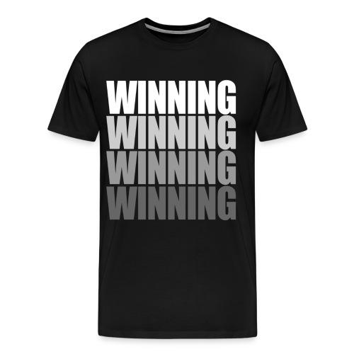 Winning (Charlie Sheen) - Men's Premium T-Shirt