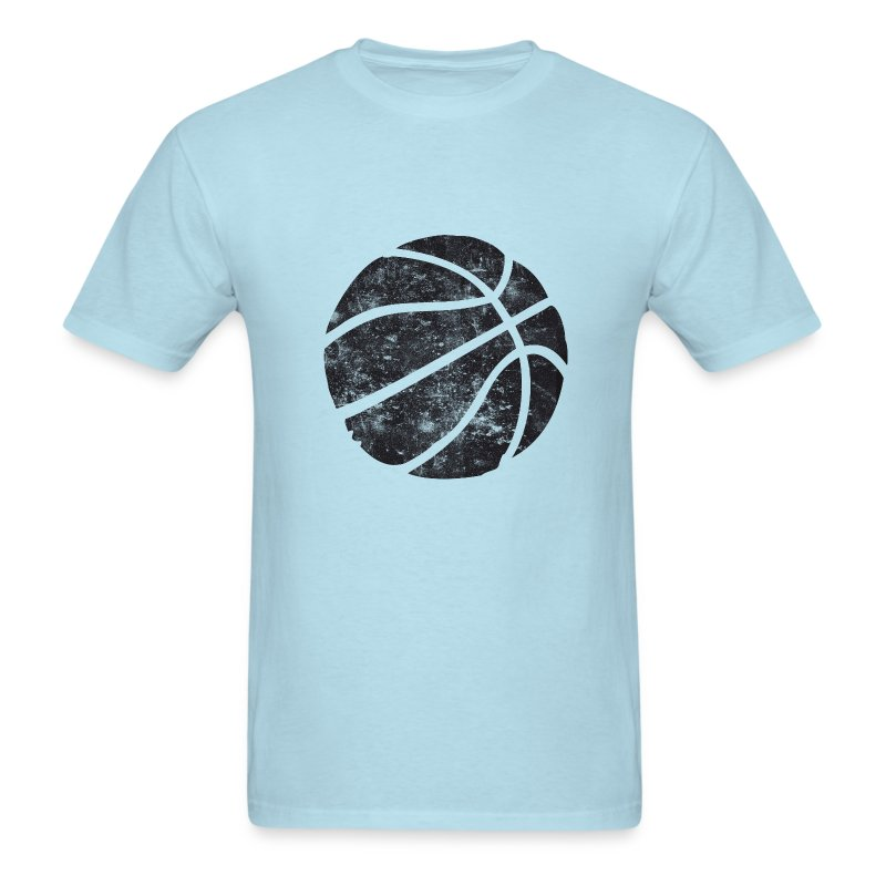 basketball vintage look retro t shirt spreadshirt