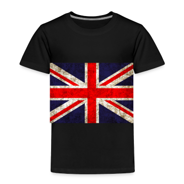 UK Flag Toddler Shirts