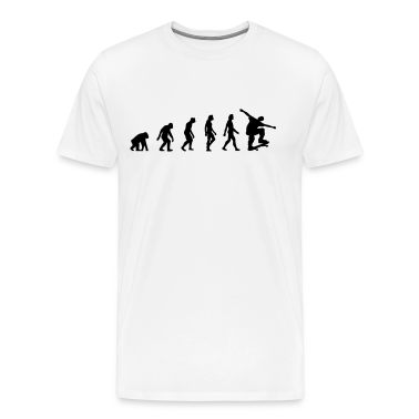 Skateboard Evolution (1c) T-Shirts