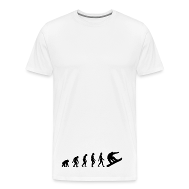 Snowboard Evolution (1c) T-Shirts