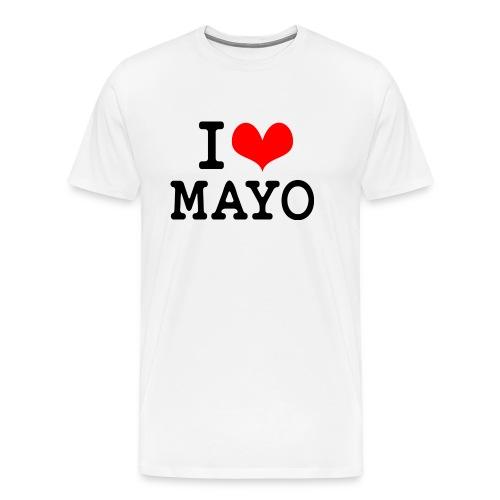 I Love Mayo - Men's Premium T-Shirt