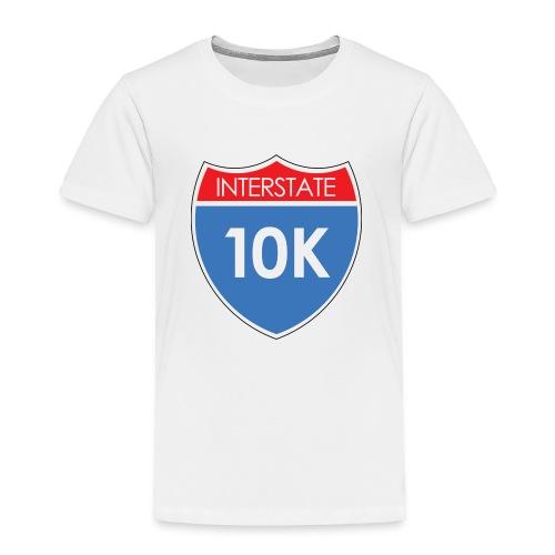 Interstate 10K - Toddler Premium T-Shirt