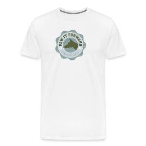 Paw It Forward - (cropped ears) - Men's Premium T-Shirt