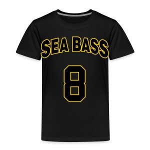 Sea Bass 8 - Toddler Premium T-Shirt