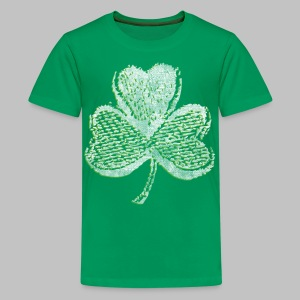 Old Shamrock Style - Kids' Premium T-Shirt