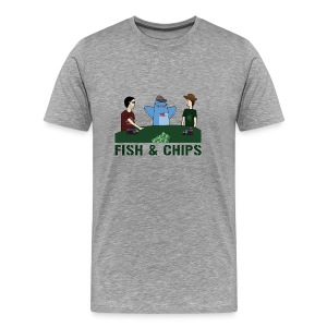 Fish & Chips - Men's Premium T-Shirt