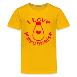 I Love Mayonnaise - Kids' Premium T-Shirt