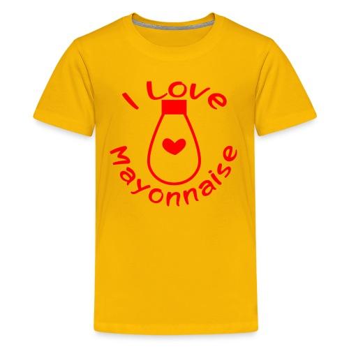 I Love Mayonnaise - Kids' Premium T-Shirt