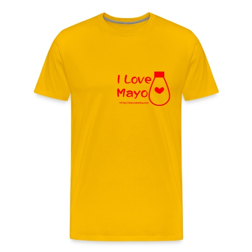 I Love Mayo - Men's Premium T-Shirt