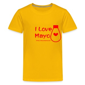 I Love Mayo - Kids' Premium T-Shirt