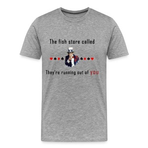 The fish store - Men's Premium T-Shirt