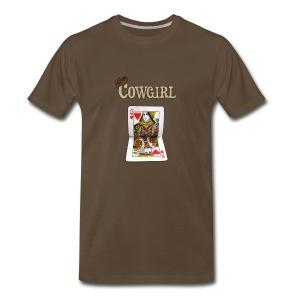 Ride it Cowgirl - Men's Premium T-Shirt