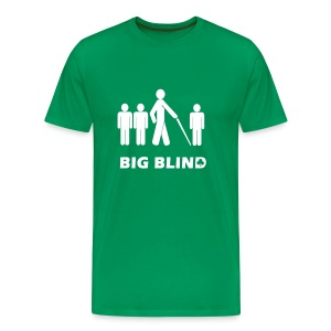 Big Blind - Men's Premium T-Shirt