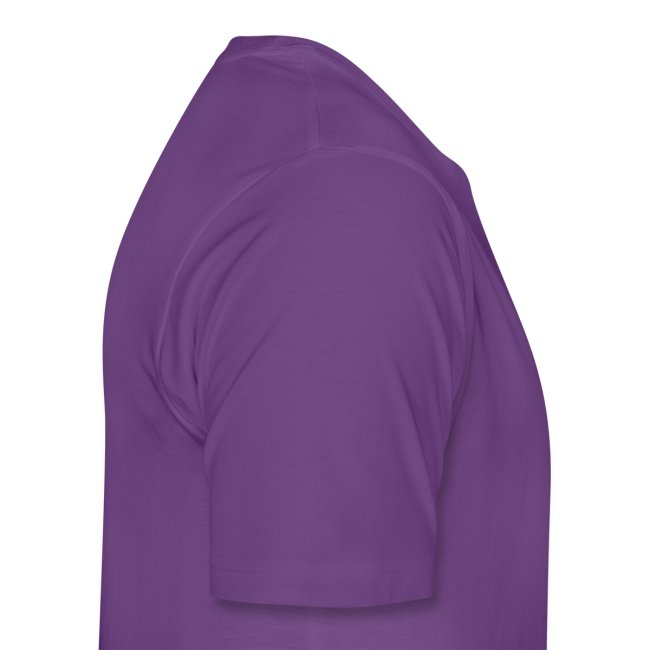 mens construction works tshirt purple
