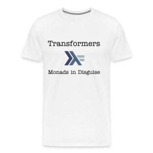 Transformers: Monads in Disguise for Men - Men's Premium T-Shirt