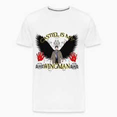 Castiel is my wingman T-Shirts