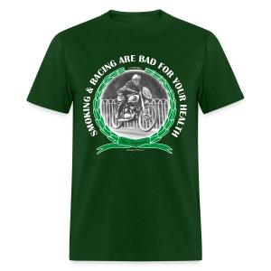 Smoking and Racing - Men's T-Shirt