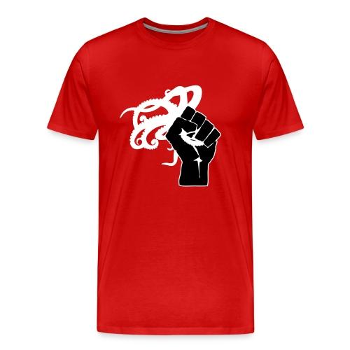 Octopus Revolution - Front Logo Only - Men's Premium T-Shirt