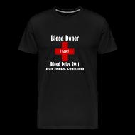 T-Shirts ~ Men's Premium T-Shirt ~ Men's Blood Donor 2011 - Black