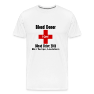 T-Shirts ~ Men's Premium T-Shirt ~ Men's Blood Donor 2011