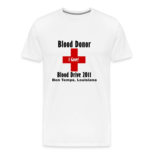 Men's Blood Donor 2011 - Men's Premium T-Shirt