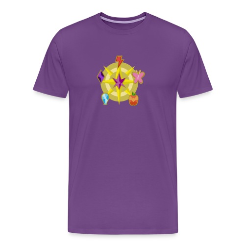 Power of the Elements - Men's Premium T-Shirt