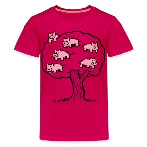 Pig Tree - Kids' Premium T-Shirt