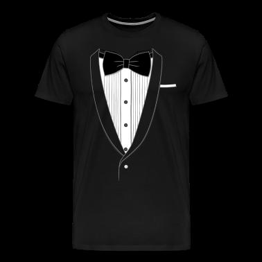 Fake Tuxedo T-shirt